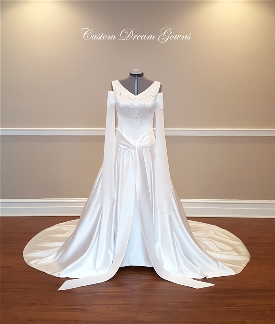 Medieval Wedding Dress | Custom Dream Gowns | Wedding Dresses ...