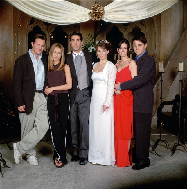 Emily\'s Wedding Dress on Friends | Custom Dream Gowns | Wedding ...