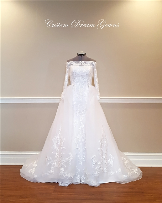 Celeste Wedding Dress | Custom Dream Gowns | Wedding Dresses ...