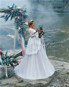 Salvia 17105 Wedding Dress | Custom Dream Gowns