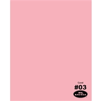 Coral Seamless Backdrop Paper