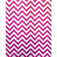 Raspberry Chevron Fabric Backdrop