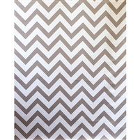 Slate Gray Chevron Fabric Backdrop