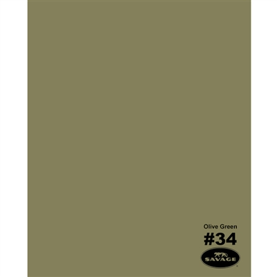 Olive Green Seamless Backdrop Paper