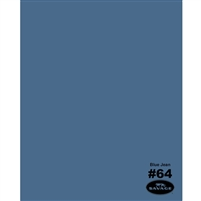 Blue Jean Seamless Backdrop Paper