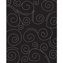 Dotted Swirls Printed Backdrop