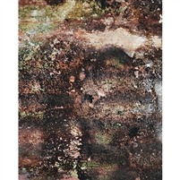 Green Corrosion Printed Backdrop