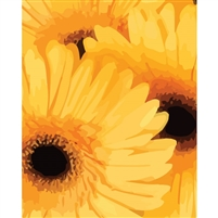 Painted Sunflowers Printed Backdrop