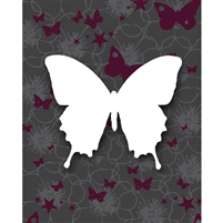 Butterfly Wings Poseable Printed Backdrop
