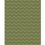 Forest Greens Chevron Printed Backdrop
