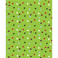 Random Polka Dots Printed Backdrop