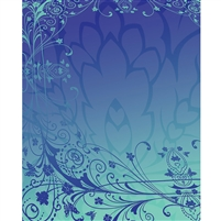 Blue & Purple Antique Printed backdrop