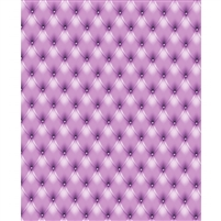 Violet Tufted Printed Backdrop