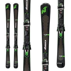 Nordica GT 76 TI Skis W/ TPX 12 Evo System Bindings - 2018