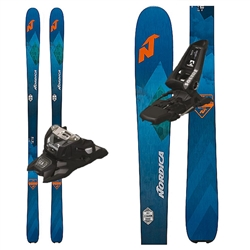 Nordica Navigator 90 Skis W/ Marker Squire Bindings - 2018