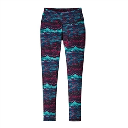 "Patagonia Women's 27"" Centered Tights Baselayer"