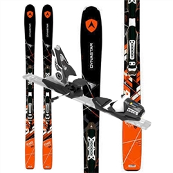 Dynastar Powertrack 84 Skis W/Look SPX 12 Bindings - 2017