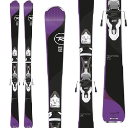 Rossignol Temptation 75 Women's Skis w/ Xpress 10 Bindings - 2018