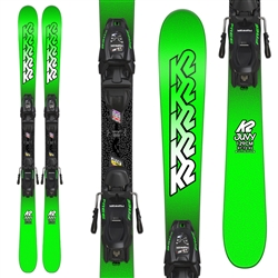K2 Juvy 4.5 Skis w/ FDT 4.5 Jr. Bindings - 2018