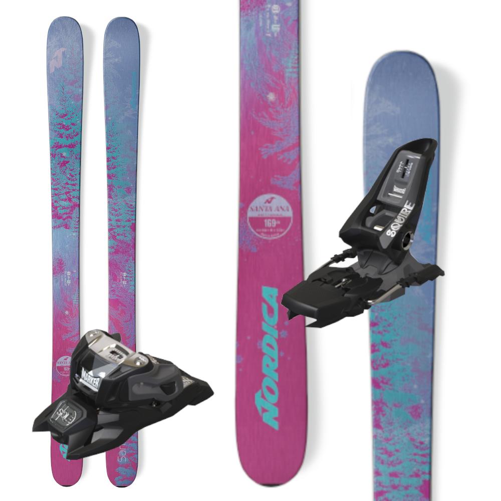 Nordica Santa Ana 100 Skis 2019 W  Marker Squire Binding ec1f8d114ec6