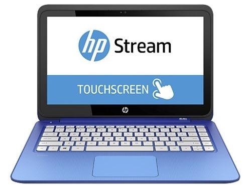 hp stream 13 3 blue touch screen laptop factory refurbished 90