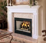 Comfort Flame Wood Fireplace Blackstone