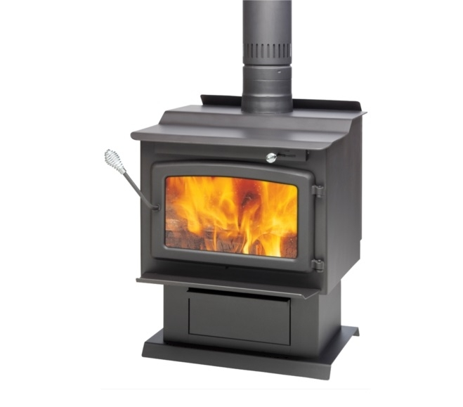 Century Heating Large Wood Stove Fw3000