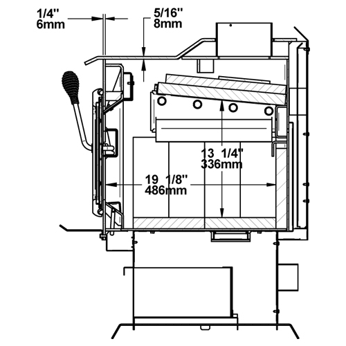 Century Heating Medium Wood Stove FW3300