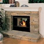 FMI Products Wood Fireplace Windsor