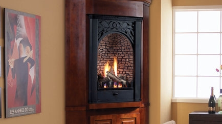 Sale ... - Monessen Vent Free Gas Fireplace Parlor, Monessen Gas Fireplace