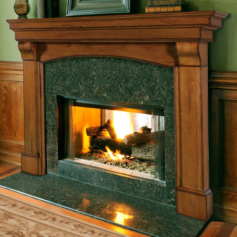 Fireplaceinsert Com Pearl Mantels Blue Ridge Fireplace
