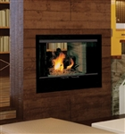 Vantage Hearth See-Thru Wood Fireplace