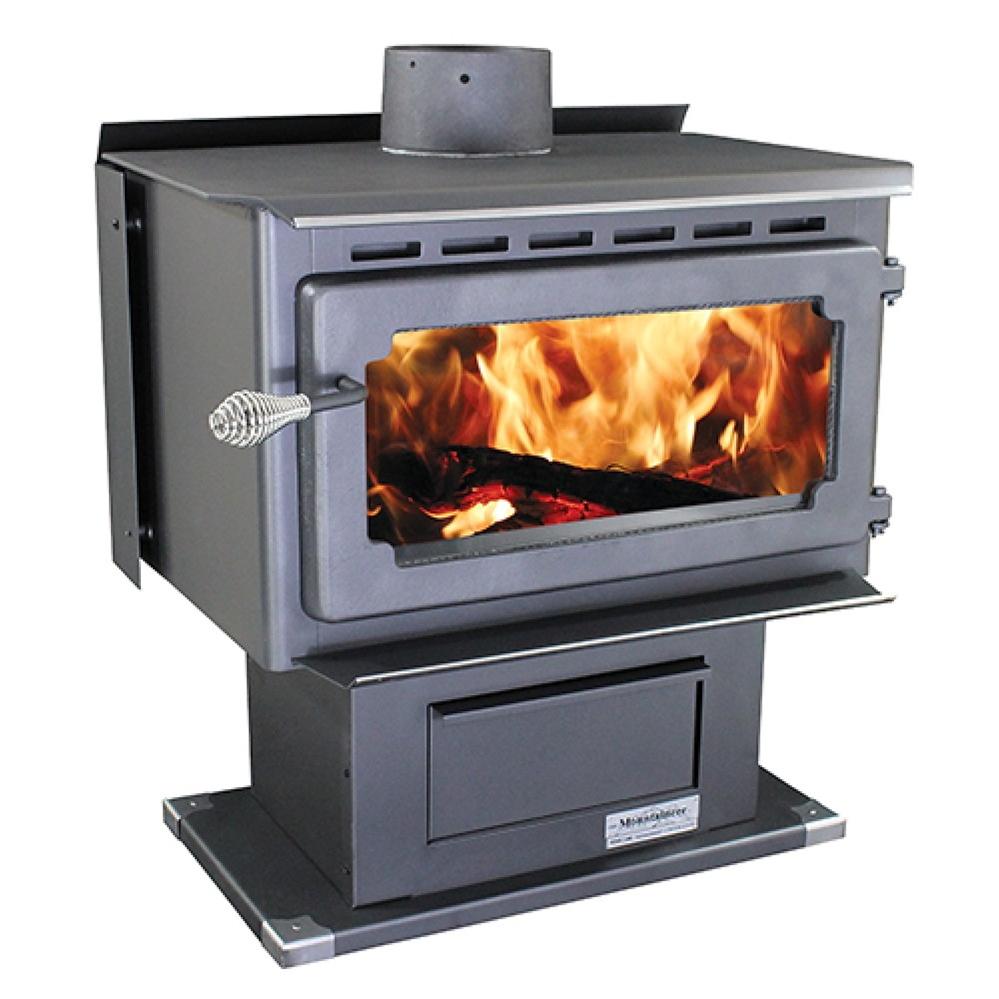 - Fireplace Insert.com, Vogelzang Plate Steel Wood Stove Mountaineer