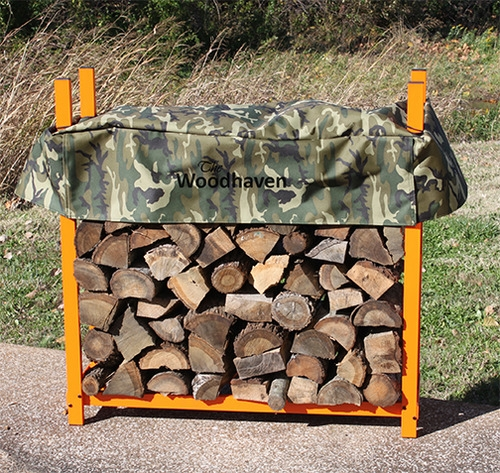 Woodhaven Wood Rack with Cover WR5 (4ft x 5ft)