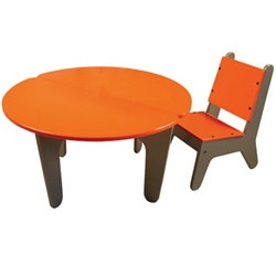 BB2 Set - Kids Table & Chairs