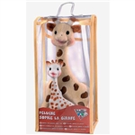 Vulli Sophie The Giraffe Set - Soft Toy & Latex Toy