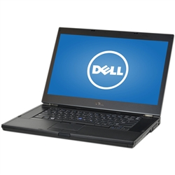 "<b>Dell Latitude E6510 </b> Intel Core i5 2.4GHz, 8GB, DVD-RW, 320GB HD, 15.6""HD (1366x768) Display, Off-Lease Laptop"