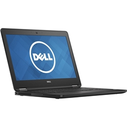 <b>Dell Latitude 12 E7270</b> Intel Core i5 (Dual Core) 2.4GHz, 8GB, 128GB SSD, 12.5in HD (1366x768) Display, Off-Lease UltraBook Laptop