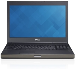<b>Dell Precision M4700 Workstation</b> Intel Core i7 (Quad Core) 2.6GHz, 8GB, DVD, 256GB SSD, 15.6in HD (1366x768) Display, Win 10 Pro 64-bit OS, Off-Lease Laptop