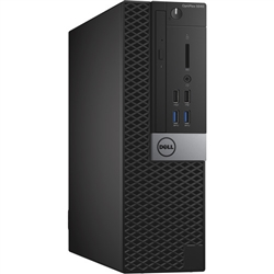<b>Dell OptiPlex 5040</b> Intel Core i7 (Quad Core) 3.4GHz, 16GB, DVD-RW, 256GB SSD, Small Form Factor Off-Lease PC w/Win 10 Pro 64-bit OS