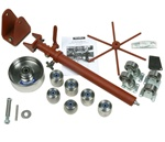 MetalAce English Wheel U-Weld Kit