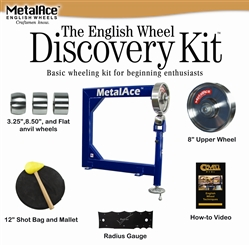 MetalAce Discovery Kit - Benchtop English Wheel