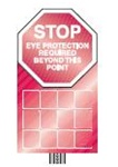 Eye Protection Station - Safety Stop Station