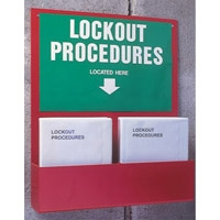 Lockout Procedures - Protective Equip. & Procedure Holders