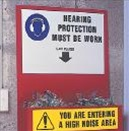 Hearing Protection Holders - Protective Equip. & Procedure Holders