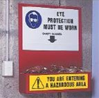 EYE PPE EQUIPMENT STATION - Protective Equipment & Safety Stations