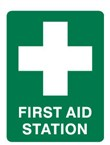 FIRST AID STATION 450X300 POLY