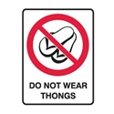 DO NOT WEAR THONGS 300X225 MTL