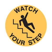 FLOOR SIGN WATCH YOUR STEP