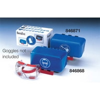 BLUE HEARING PROTECTION - MINI STORAGE BOXES